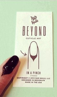 Beyond Cuticle Art,Rad Nails,маникюр,ногти