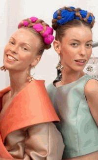 NYFW,Нью-Йорк Неделя моды,прически,тренды,весна-лето 2014