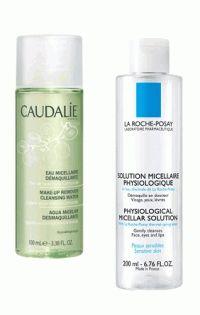 Мицеллярная вода,Топ-5,Caudalie,La Roche-Posay,Darphin,Dior,Lancome
