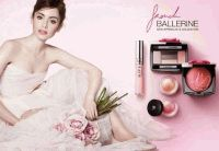 Lancome,French Ballerine,макияж,весна 2014,Лили Коллинз