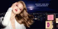 YSL,Parisian Nights Holiday 2013,макияж,рождество,Линдси Виксон