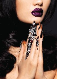 Rouge Magazine China,фотоприцел,Майкл Криг,макияж,стразы