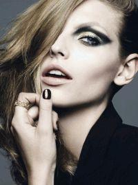 Dior Magazine,Карлина Кауне,фотоприцел,макияж