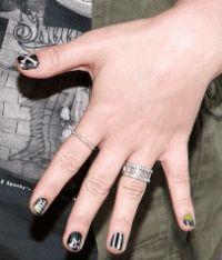 Demi Lovato,The New Black,Деми Ловато,коллаборация,лак для ногтей