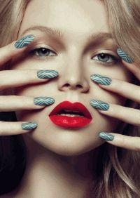 Beauty Scene,фотоприцел,креативный маникюр,яркие губы,макияж