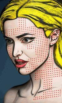 2D,фотоприцел,Александр Хохлов,арт мейкап,необычный макияж,визаж