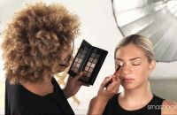 smashbox,Full Exposure Palette,палета для макияжа,форма глаз,макияж,видео