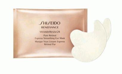 shiseido,Benefiance WrinkleResistant 24,маска для глаз,маска,омоложение