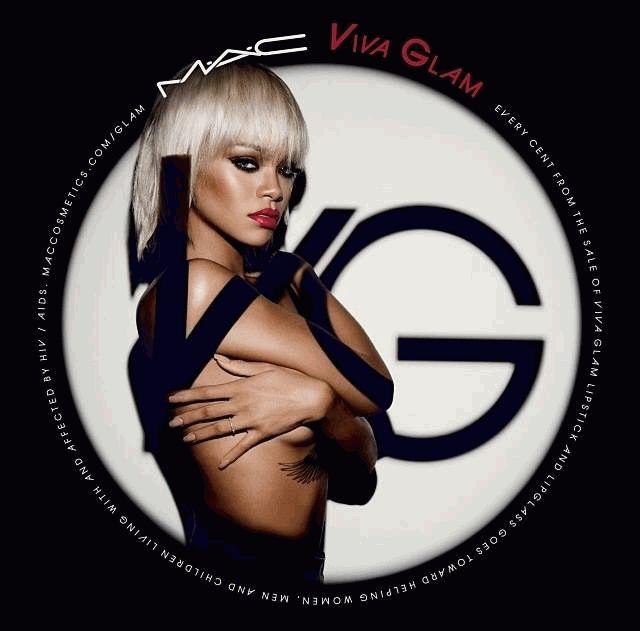 MAC,MAC Viva Glam,рекламная кампания,рианна,Инес и Винуд фотографы