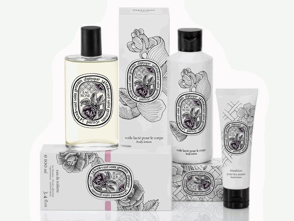 Rose Collection Diptyque,Diptyque,роза,аромат