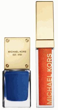 Michael Kors,весенняя коллекция макияжа,весна 2014,лак для ногтей,блеск для губ