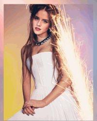 эмма уотсон,длинные волосы,волосы,Wonderland Magazine