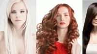 окрашенные волосы,уход,блондинка,брюнетка,рыжая