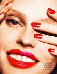 лара стоун,тренды,макияж,весна 2014,лето 2014