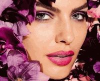Лиловый макияж,Лиловый макияж фото,модный макияж