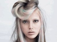 Davines,краска для волос,зеленая краска,желтая краска для волос,зеленые волосы