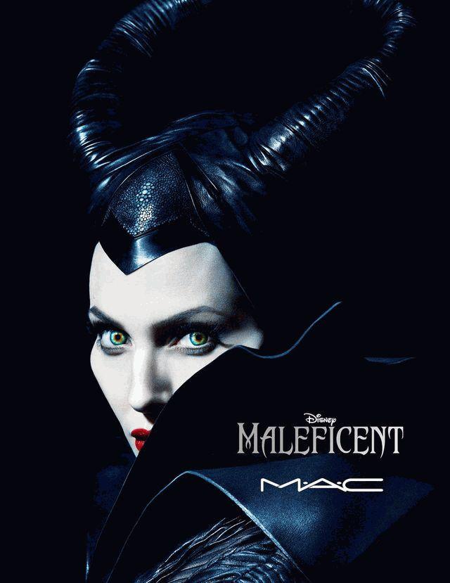 Анджелина Джоли,макияж,коллекция макияжа,Малефисента,фото,MAC,MAC Maleficent