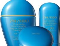 shiseido,тональный крем,новинки,новинка,солнцезащитный крем,фото