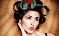 бигуди,локоны,как накрутитить волосы,красивые локоны,прическа,волосы на бигуди