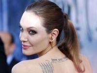 Анджелина Джоли,фото,Малефисента,макияж,2014