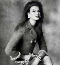 Линда Евангелиста,фото,реклама,Moschino