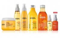 солнце,солнцезащитная гамма для волос,солнцезащита для волос,волосы,уход,летом,Loreal Paris