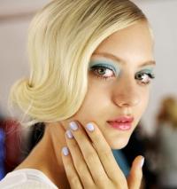 акварельный макияж,фото,2014,тренды