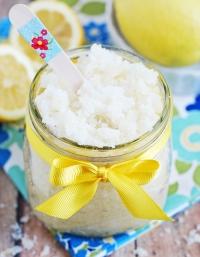 скраб для тела,лимон