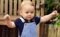 принц Джордж,фото,кейт миддлтон,2014,день рождения,принц Уильям