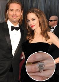 обручальные кольца,свадьба,фото,звезды,2014,Анджелина Джоли,брэд питт,ким кардашьян,бен аффлек,дженнифер гарнер