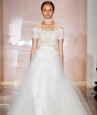 свадебные платья,коллекция,Reem Acra,2014,2015,осень-зима