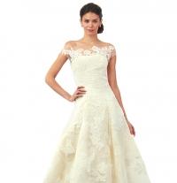 свадебное платье,Oscar de la Renta,фото,коллекция,2014,осень-зима,2015