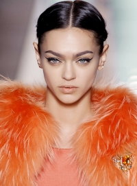 стрелки,макияж,тренд,осень-зима,2014,неделя моды