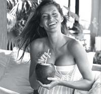 жизель бундхен,фото,фигура,уход,тело,лицо,кокосовое масло,польза,как выбрать,как применять