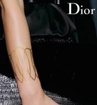 золотые тату,Dior,Christian Dior,dior,Grand Bal,татуировки