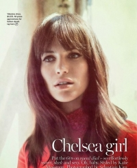 Аманда Уэллш,Аманда,Vogue,фотосессия,новая фотосессия,ретро-образ