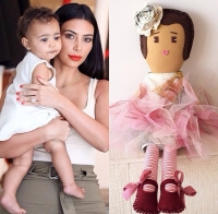 Ким Кардашьян,ким кардашьян,Норт Уэст,Норт,Канье,Celine's Dolls,коллекция кукол,кукла