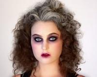 макияж,видео урок,мастер-класс,хэллоуин,2014,видео,как делать,ведьма