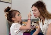 Бьянка Балти,модель,мама и дочка,Dolce and Gabbana,Grey Magazine,Матильда