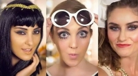 макияж,хэллоуин,2014,видео урок,мастер-класс,фото,видео,клеопатра,твигги