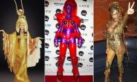 Хайди Клум,фото,лучшие костюмы,хэллоуин