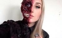 хэллоуин,2014,макияж,урок,грим,видео,мастер-класс