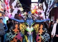Хайди Клум,фото,2014,костюм,образ,бабочка,интервью