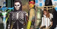хэллоуин,2014,фото,звезды,костюмы,рианна,Хайди Клум,кейт мосс,кара делевинь,наоми кэмпбелл