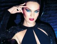 Кэндис Свенпойл,фото,рекламная кампания,рождественская коллекция,макияж,фото,2014,зима