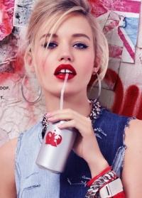 джорджия мэй джаггер,рекламная кампания,фото,2014,Rimmel,новинки косметики,губная помада