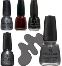 50 оттенков серого,новости,коллекция,лаки для ногтей,China Glaze,2014,новинки косметики
