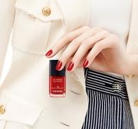 chanel,красный маникюр,лаки для ногтей,коллекция,фото,2014