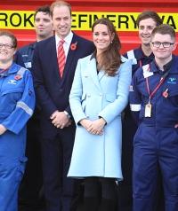 кейт миддлтон,фото,2014,пальто,беременна,второй ребенок,живот,стиль,новости,принц Уильям