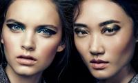 макияж,новый год,2014,тренды,вечерний макияж,фото,металлические тени,глиттер,макияж губ,smoky eyes